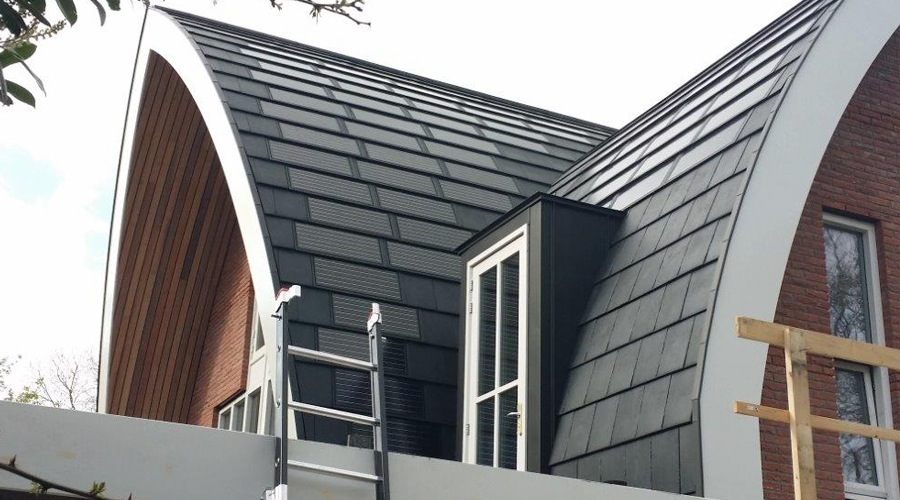 Kingston dak met zonnepanelen