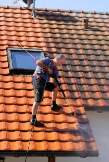 dakpannen schoonmaken