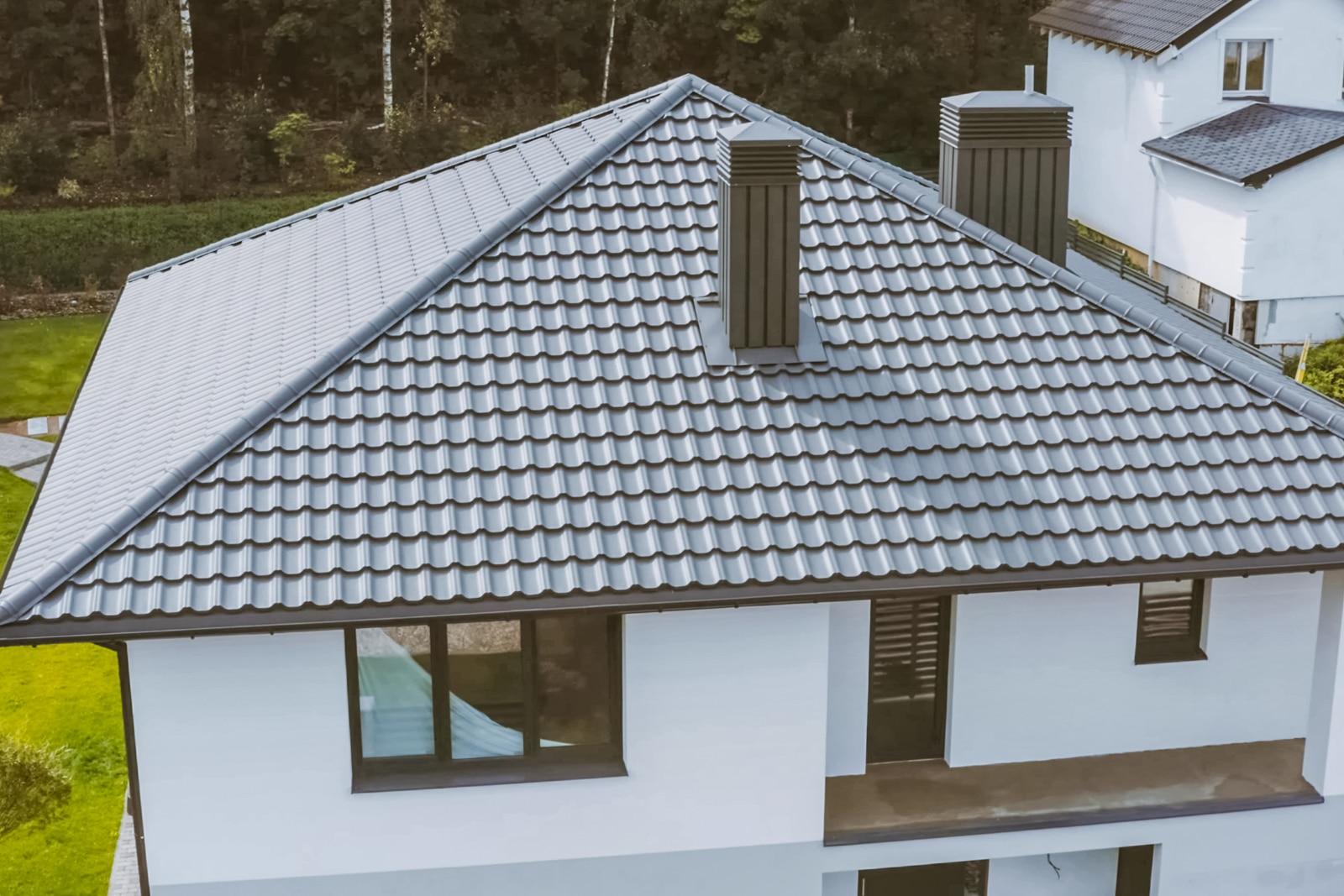 dakplaten dakbedekking voorbeeld