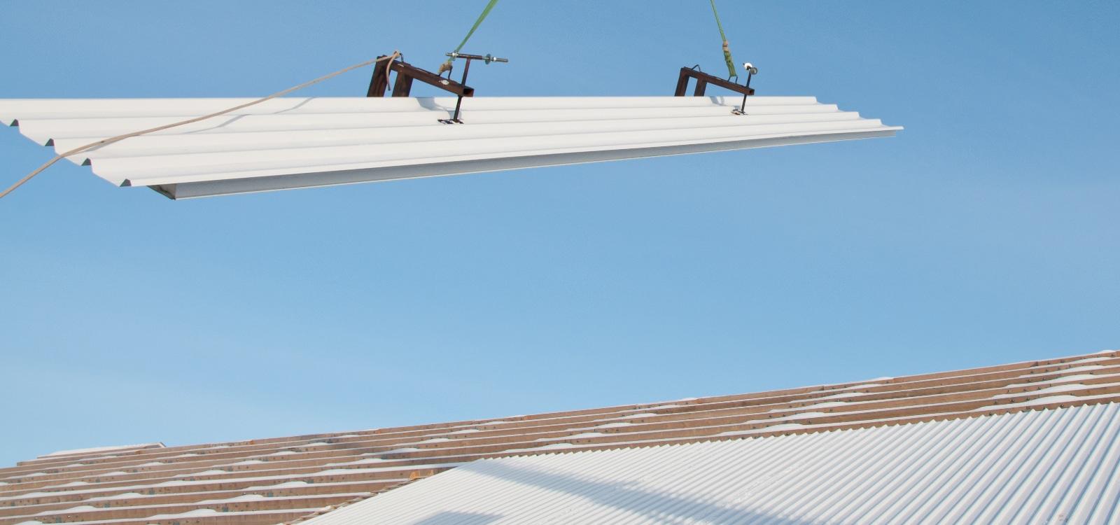 dakplaten met isolatie