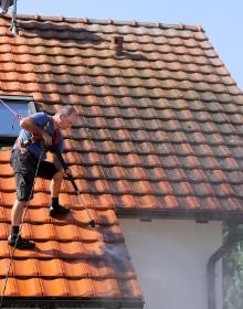 dakwerken dak reinigen
