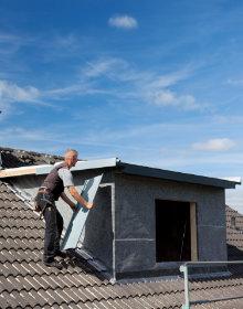plaatsing dakkapel door dakdekker