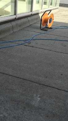 plat dak bitumen