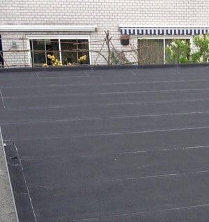 Wanneer bitumen dak vervangen