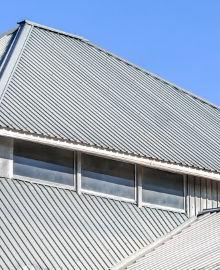 trapezium dakpanelen zonder isolatie