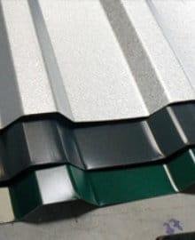 voorbeeld trapezium dakplaten