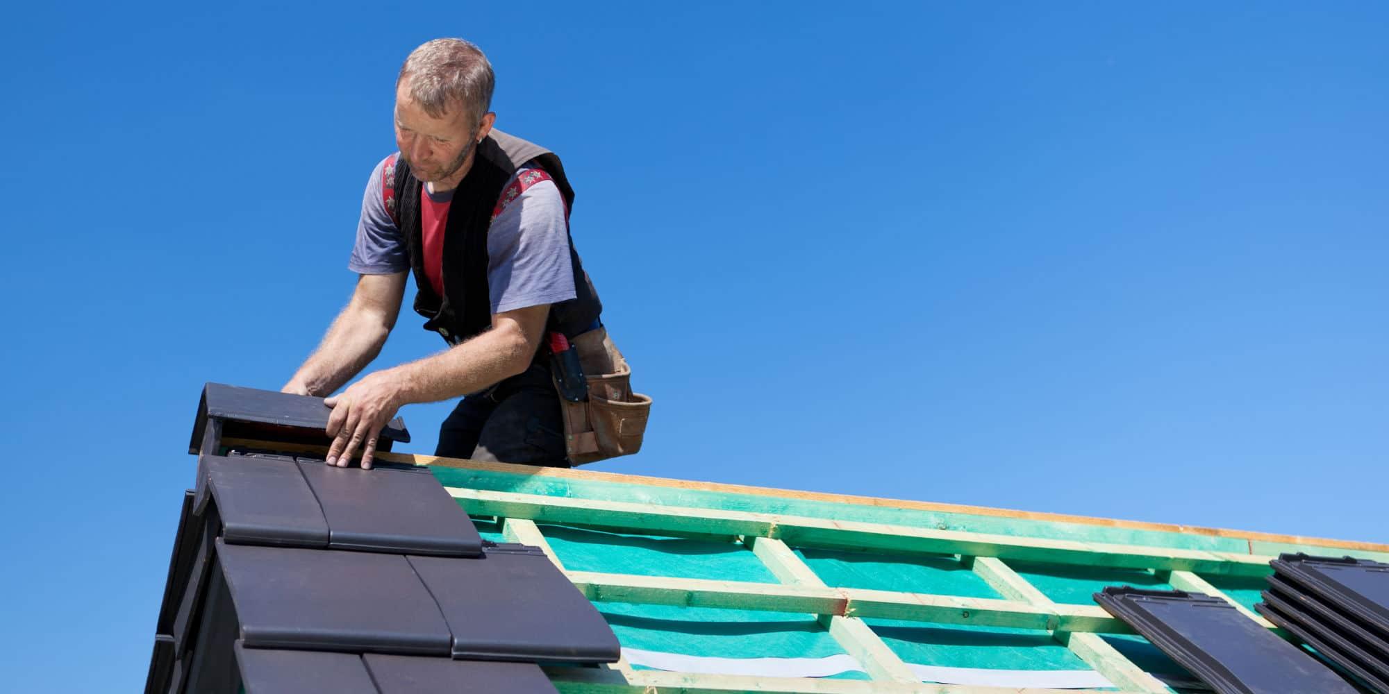 zelf dakpannen leggen